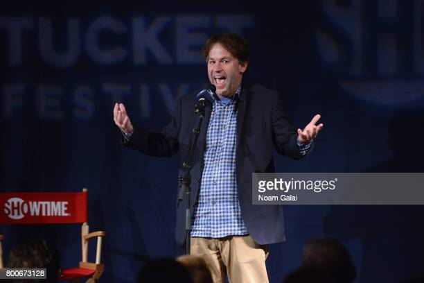 Mike Birbiglia speaks onstage at Late Night Letters during the 2017 Nantucket Film Festival Day 4 on June 24 2017 in Nantucket Massachusetts