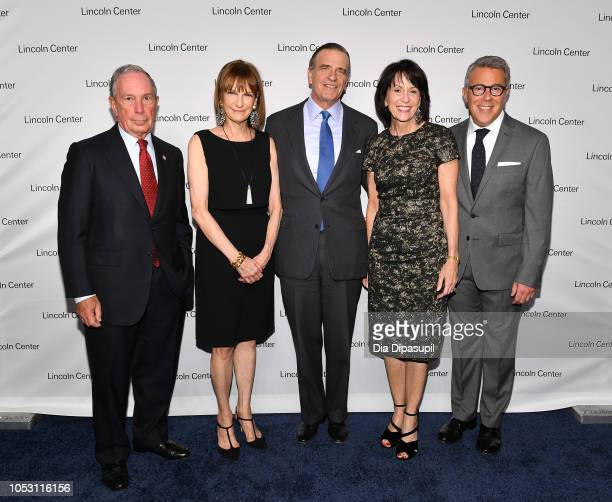 Mike Bloomberg CEO Bloomberg Philanthropies Patricia E Harris Lincoln Center Distinguished Service Award recipient Robert K Steel Chair Lincoln...