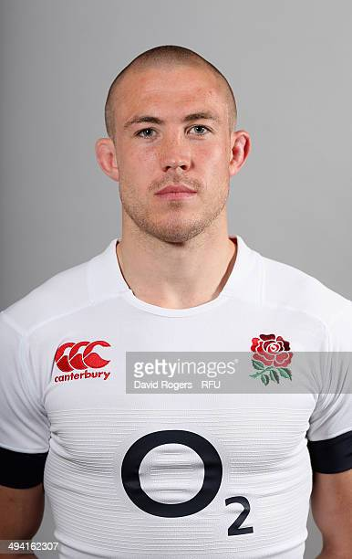 Mike Brown of England poses for a portrait at the Lensbury Club on May 26 2014 in Teddington England