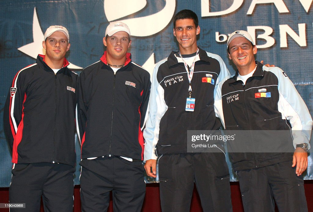 2006 Davis Cup Draw Ceremony - February 10, 2006