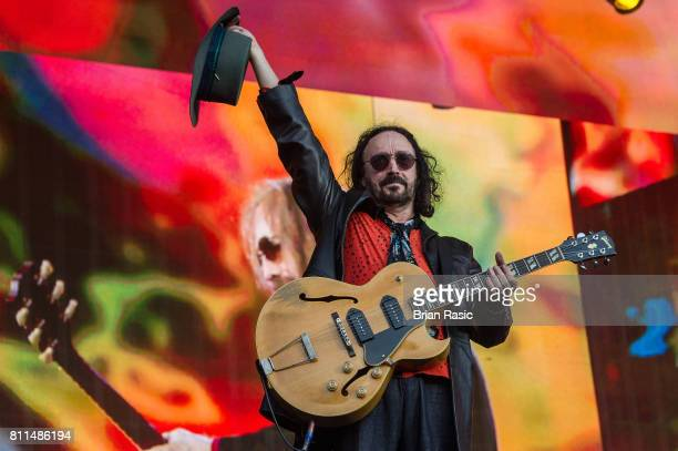 Mike Campbell of Tom Petty And The Heartbreakers performing during the Barclaycard British Summer Time Festival at Hyde Park on July 9 2017 in London...