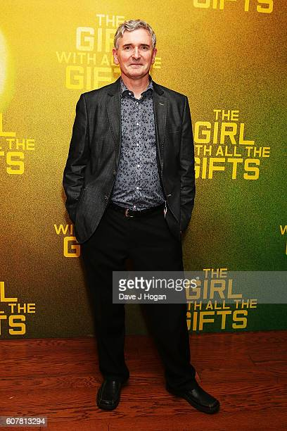 """Mike Carey attends a special screening of """"The Girl With All The Gifts"""" at Vue West End on September 19, 2016 in London, England."""