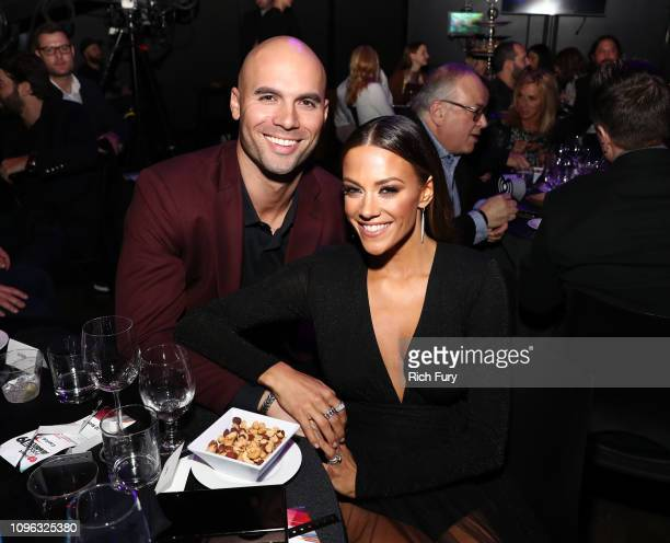 Mike Caussin and Jana Kramer at the 2019 iHeartRadio Podcast Awards Presented by Capital One at the iHeartRadio Theater LA on January 18 2019 in...