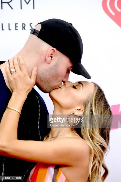 Mike Caussin and Jana Kramer attend 2019 iHeartRadio Wango Tango presented by The JUVÉDERM® Collection of Dermal Fillers at The Dignity Health Sports...