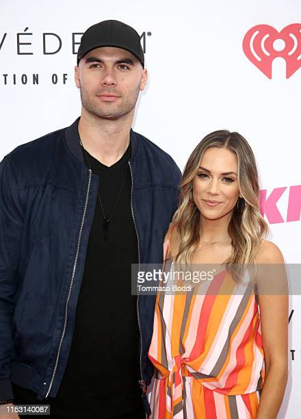 Mike Caussin and Jana Kramer attend 2019 iHeartRadio Wango Tango presented by The JUVÉDERM® Collection of Dermal Fillers at Dignity Health Sports...