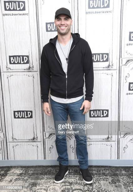 Mike Caussin visits the Buiid Series to discuss the podcast 'Whine Down with Jana and Mike' at Build Studio on May 17 2019 in New York City