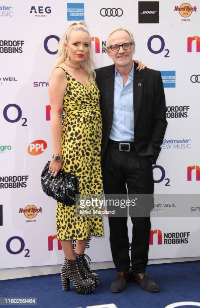 Mike Chapman attends the Nordoff Robbins O2 Silver Clef Awards 2019 at Grosvenor House on July 05 2019 in London England