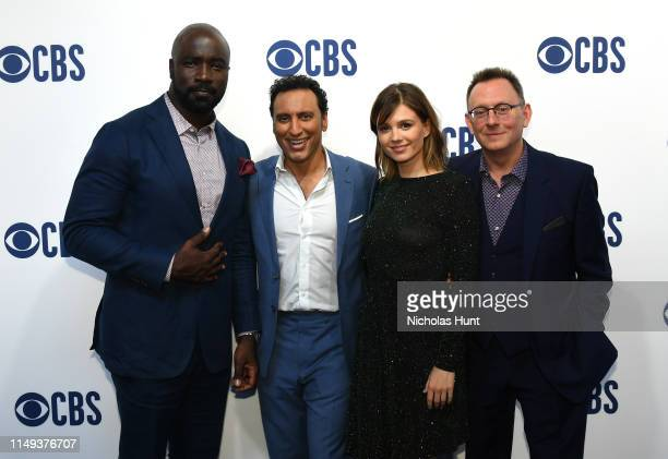 Mike Colter Aasif Mandv Katja Herbers and Michael Emerson attend the 2019 CBS Upfront at The Plaza on May 15 2019 in New York City