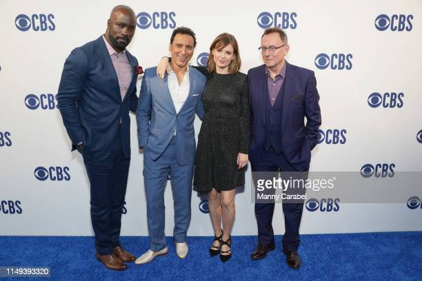Mike Colter Aasif Mandvi Katja Herbers and Michael Emerson attend the 2019 CBS Upfront at The Plaza on May 15 2019 in New York City