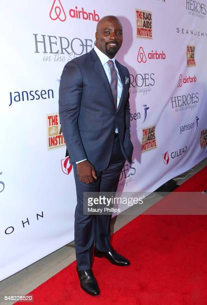 Mike Colter arrives at the 16th Annual Heroes In The Struggle gala reception and awards presentation at 20th Century Fox on September 16 2017 in Los...