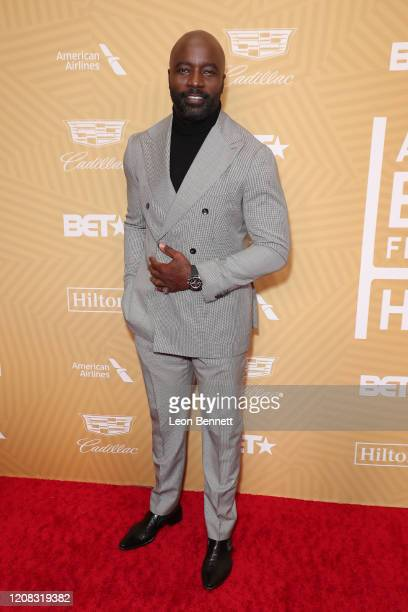 Mike Colter attends American Black Film Festival Honors Awards Ceremony at The Beverly Hilton Hotel on February 23, 2020 in Beverly Hills, California.