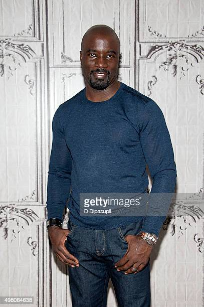 Mike Colter attends AOL BUILD Series Mike Colter 'Jessica Jones' at AOL Studios In New York on November 20 2015 in New York City