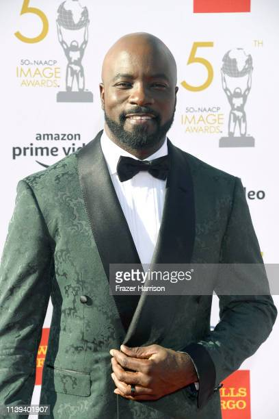 Mike Colter attends the 50th NAACP Image Awards at Dolby Theatre on March 30 2019 in Hollywood California