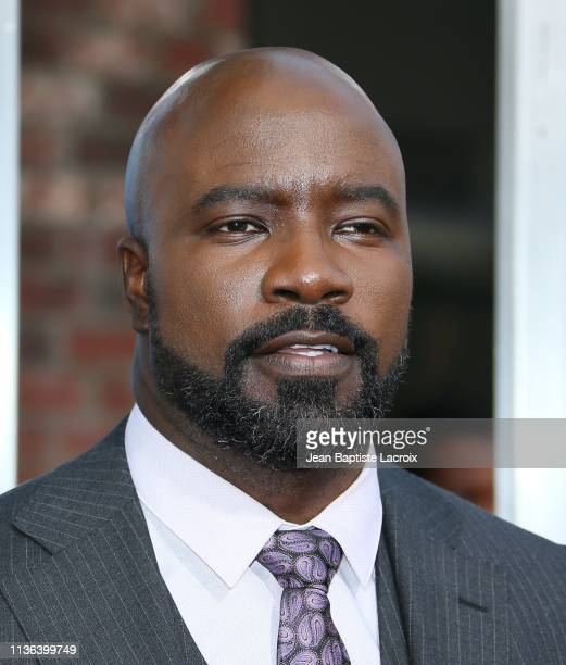 Mike Colter attends the premiere of 20th Century Fox's 'Breakthrough' at Westwood Regency Theater on April 11 2019 in Los Angeles California