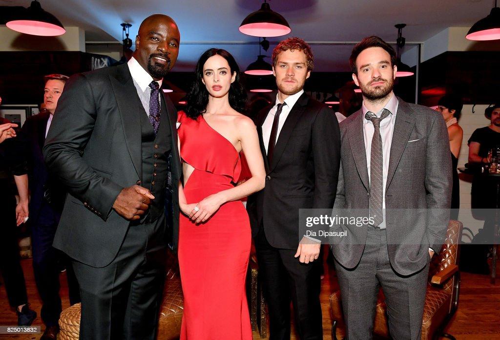 """Marvel's The Defenders"" New York Premiere - After Party : Foto jornalística"