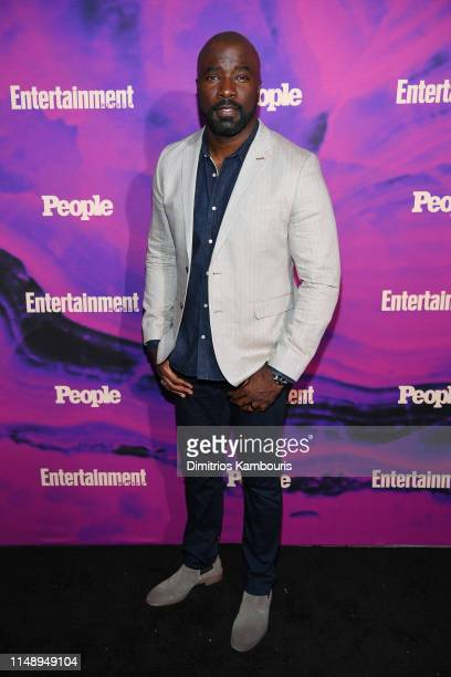 Mike Colter of Evil attends the Entertainment Weekly PEOPLE New York Upfronts Party on May 13 2019 in New York City