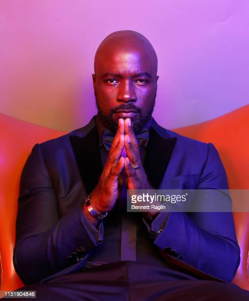 Mike Colter poses for a portrait during the BET Awards 2019 at Microsoft Theater on June 23 2019 in Los Angeles California