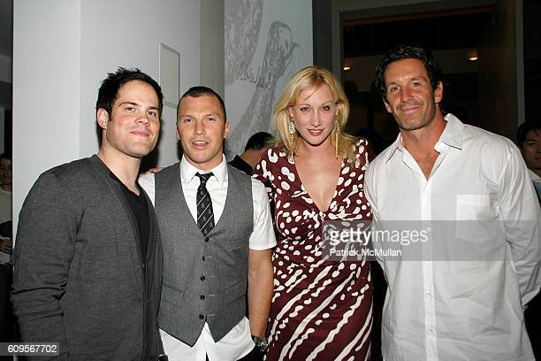 Mike Comrie Sean Avery Amy Sacco and Brendan Shanahan attend GLAMOUR  MAGAZINE s  Fashion Gives Back cac786be407