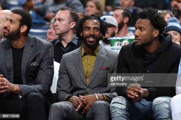 Mike Conley of the Memphis Grizzlies during the game against the Miami Heat on December 11 2017 at FedExForum in Memphis Tennessee NOTE TO USER User...