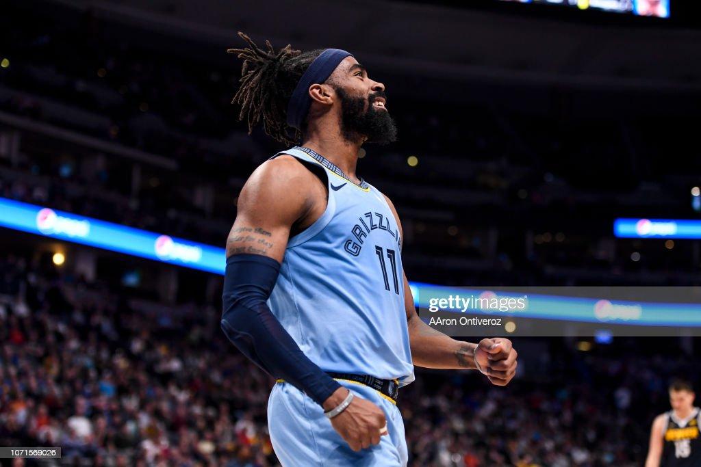 DENVER NUGGETS VS MEMPHIS GRIZZLIES, NBA : News Photo