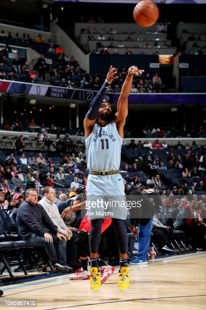 Mike Conley of the Memphis Grizzlies shoots the ball against the Toronto Raptors on November 27 2018 at FedExForum in Memphis Tennessee NOTE TO USER...