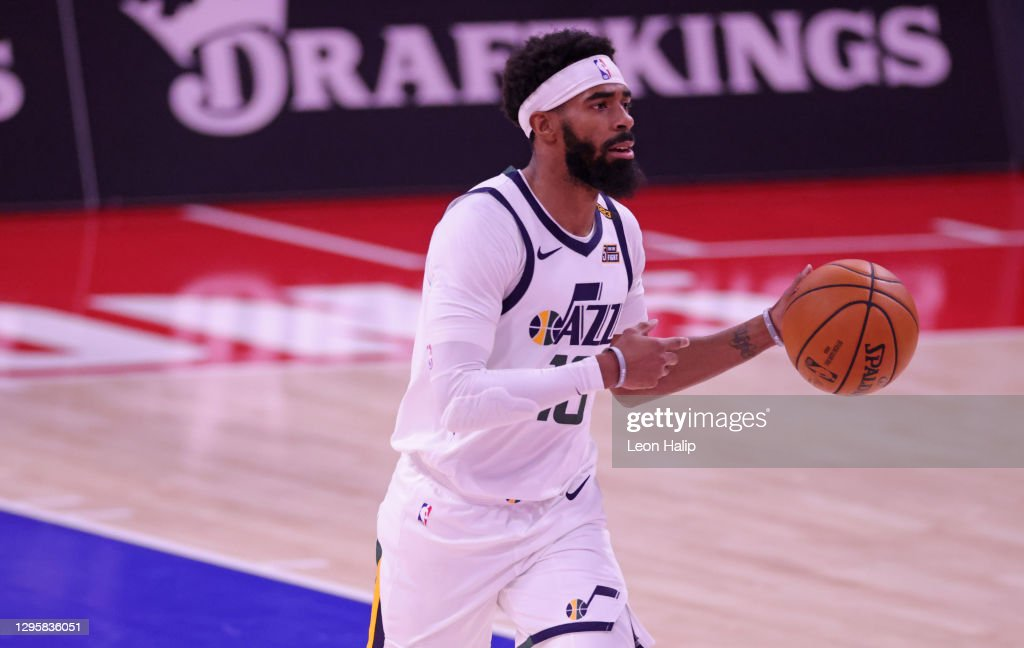Utah Jazz v Detroit Pistons : News Photo