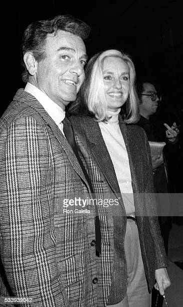 Mike Connors and Marylou Connors attend Jane Wooster Scott Art Exhibit Opening on April 1 1982 at the De Ville Galleries in Beverly Hills California