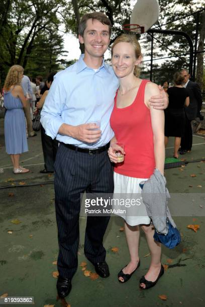Mike Conway and Leslie Conway attend CHINA ARTS FOUNDATION Welcomes the SHANGHAI SYMPHONY ORCHESTRA at The Great Lawn on July 13, 2010 in New York...