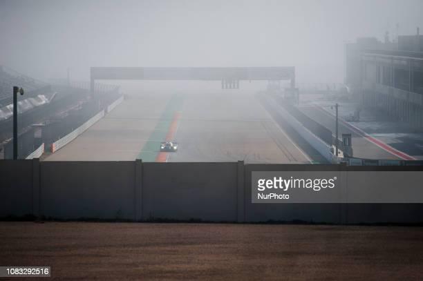 Mike Conway, Kamui Kobayashi, José María López, Sébastien Buemi, Kazuki Nakajima, Fernando Alonso and Anthony Davidson of Toyota Gazoo Racing,...