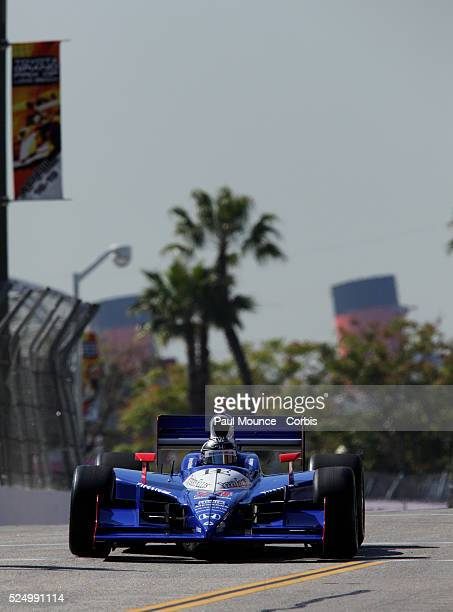 Mike Conway of Dad's Root Beer Dreyer Reinbold Racing during practice for the Indycar Series race at 35th Annual Toyota Grand Prix of Long Beach