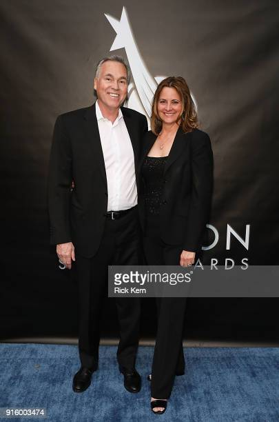 Mike D'Antoni arrives at the Houston Sports Awards on February 8 2018 in Houston Texas