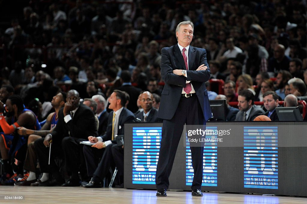 Basketball - NBA Europe Live Tour - Minnesota Timberwolves vs. New York Knicks : News Photo