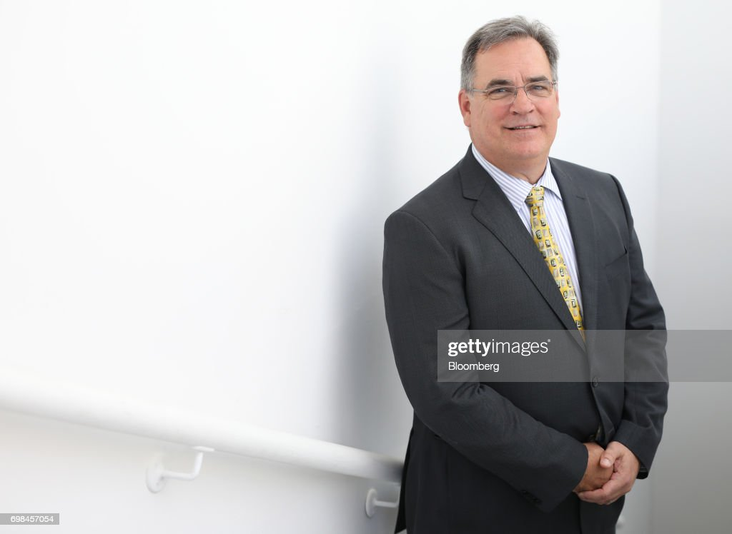 Mike Delaney, general manager of airplane development at Boeing Co., poses for a photograph during the 53rd International Paris Air Show at Le Bourget, in Paris, France, on Tuesday, June 20, 2017. The show is the world's largest aviation and space industry exhibition and runs from June 19-25. Photographer: Chris Ratcliffe/Bloomberg via Getty Images