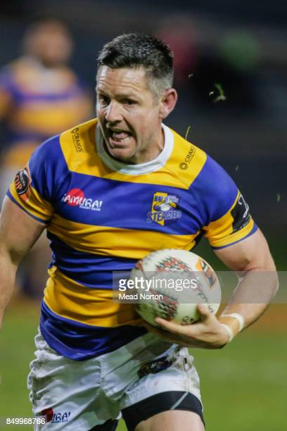 Mike Delany with the ball during the round six Mitre 10 Cup match between Bay of Plenty and Southland at Rotorua International Stadium on September...