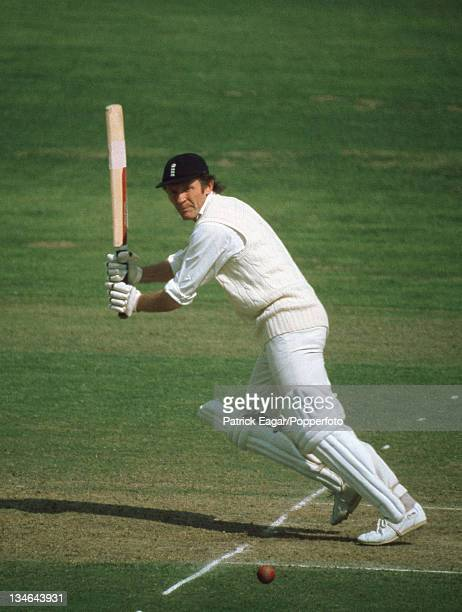 Mike Denness, England v India, 3rd Test, Edgbaston, July 1974.