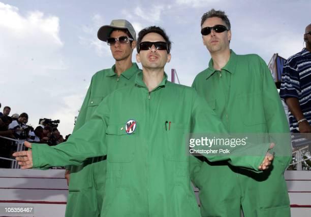 Mike Diamond Adam Horovitz and Adam Yauch of the Beastie Boys