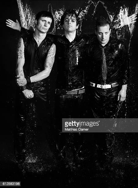 Mike Dirnt Billie Joe Armstrong and Tre Cool