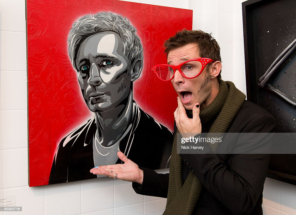 Mike Dirnt of Green Day attends the '21st Century Breakdown - The Art Of Rock' exhibition at the Stolen Space Gallery, Old Truman Brewery on October 22, 2009 in London, England.
