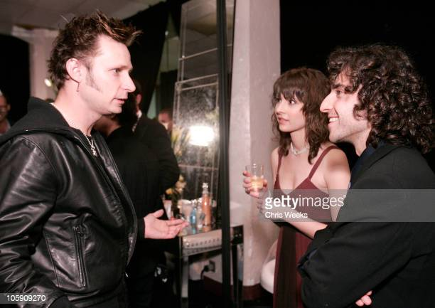 Mike Dirnt of Green Day David Krumholtz and guest