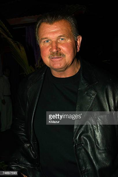 Mike Ditka during Emporio Armani GQ Dupont Registry and Derek Jeter Host Exclusive Super Bowl XXXV Bash at the Rain Lounge in Tampa Florida