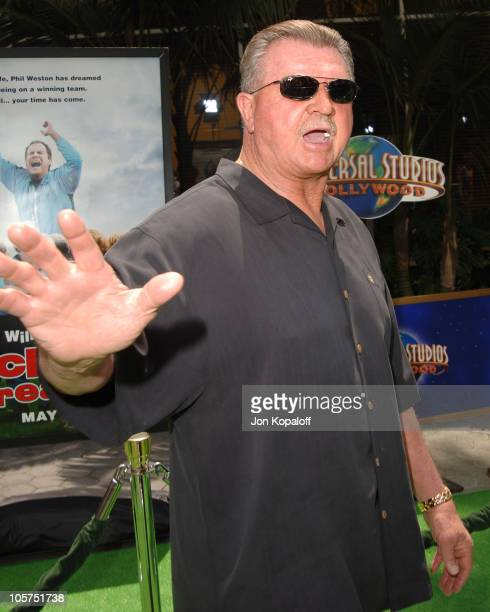 """Mike Ditka during """"Kicking & Screaming"""" Los Angeles Premiere - Arrivals at Universal Studios Cinema in Universal City, California, United States."""