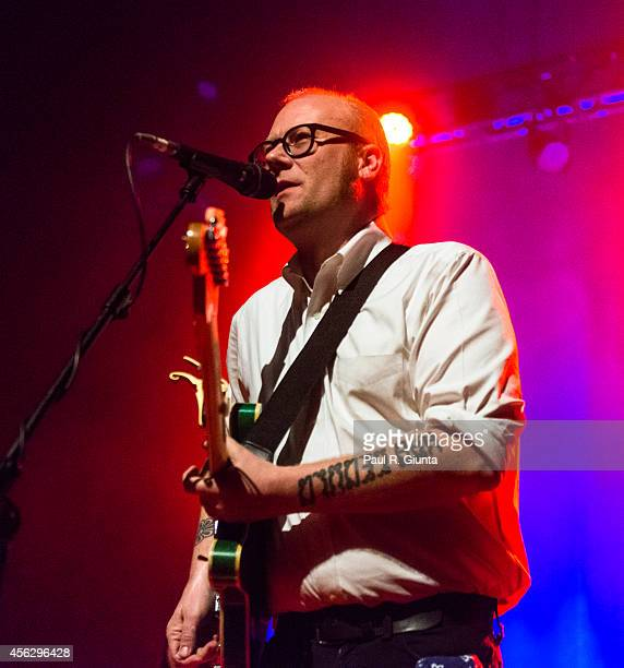 Mike Doughty performs onstage at the Fonda Theatre on November 8 2013 in Hollywood California