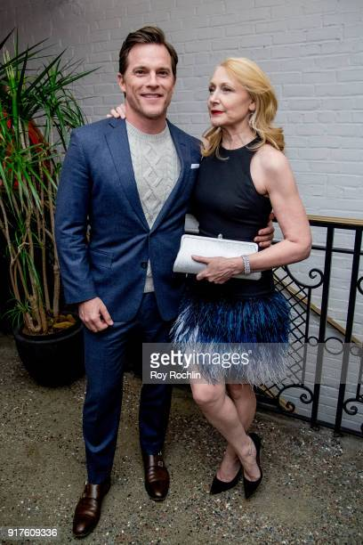 Mike Doyle and Patricia Clarkson attend the screening after party for 'The Party' hosted by Roadside Attractions and Great Point Media with The...