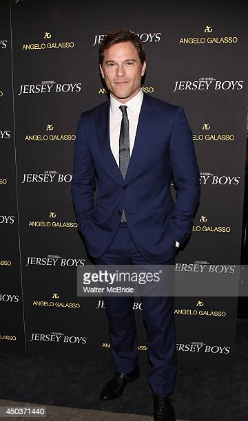 Mike Doyle attends a special New York screening reception for 'Jersey Boys' hosted by Angelo Galasso at Angelo Galasso on June 2014 in New York City