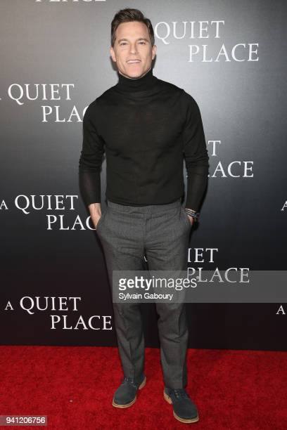 Mike Doyle attends New York Premiere of 'A Quiet Place' on April 2 2018 in New York City