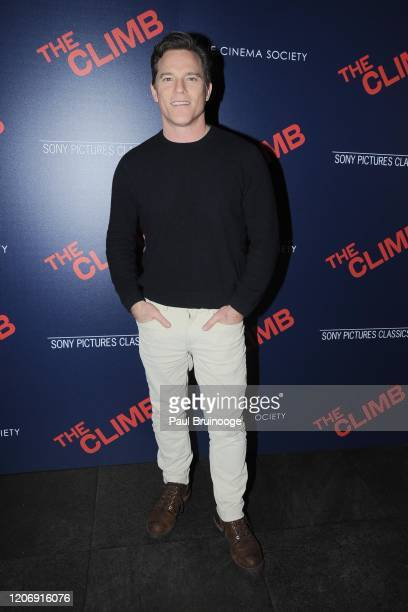 Mike Doyle attends Sony Pictures Classics And The Cinema Society Host A Special Screening Of The Climb at iPic Theater on March 12 2020 in New York...