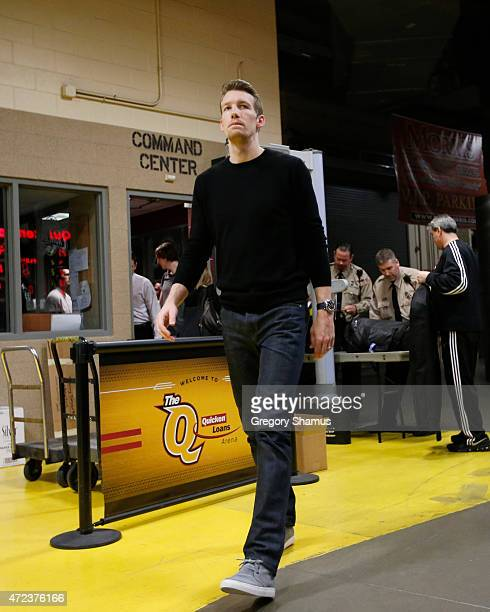 Mike Dunleavy of the Chicago Bulls before the game against the Cleveland Cavaliers before Game Two of the Eastern Conference Semifinals during the...