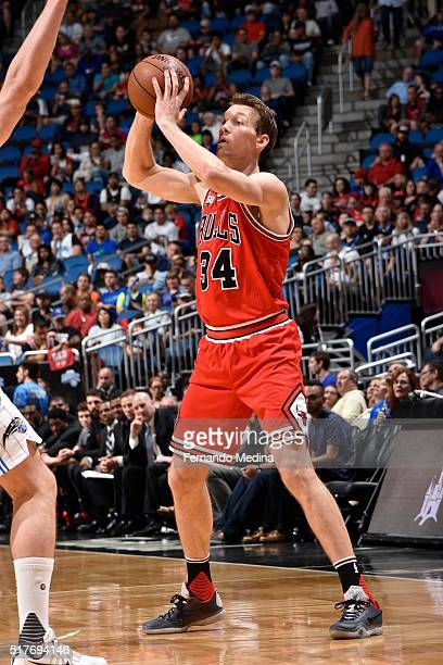Mike Dunleavy of the Chicago Bulls handles the ball against the Orlando Magic on March 26 2016 at Amway Center in Orlando Florida NOTE TO USER User...