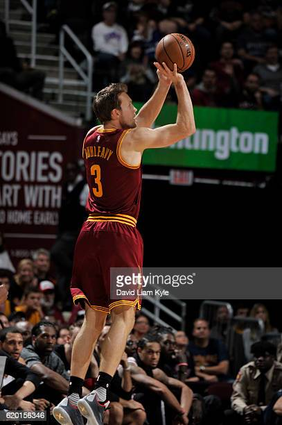 Mike Dunleavy of the Cleveland Cavaliers handles the ball Houston Rockets on November 1 2016 at Quicken Loans Arena in Cleveland Ohio NOTE TO USER...