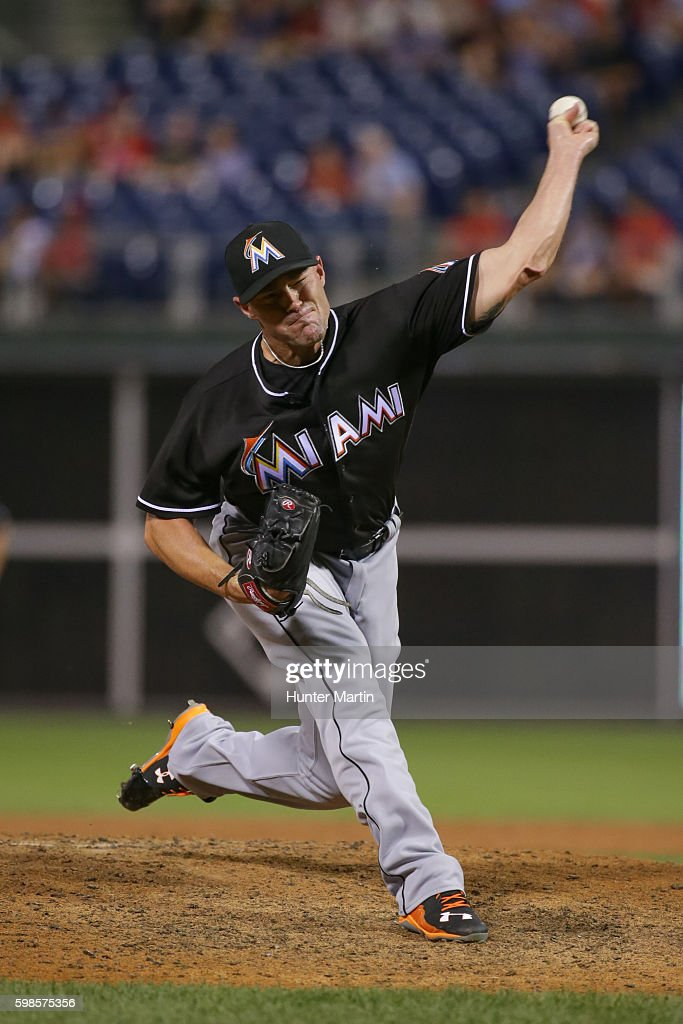 Miami Marlins v Philadelphia Phillies
